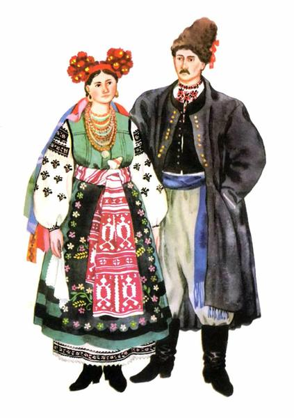 Українське весільне вбрання (ч.1)  fialkova mavka   e9221c8a2cd6c