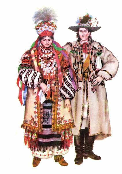Буковинський весільний одяг