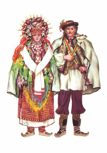 Весільний одяг Коломийського Покуття