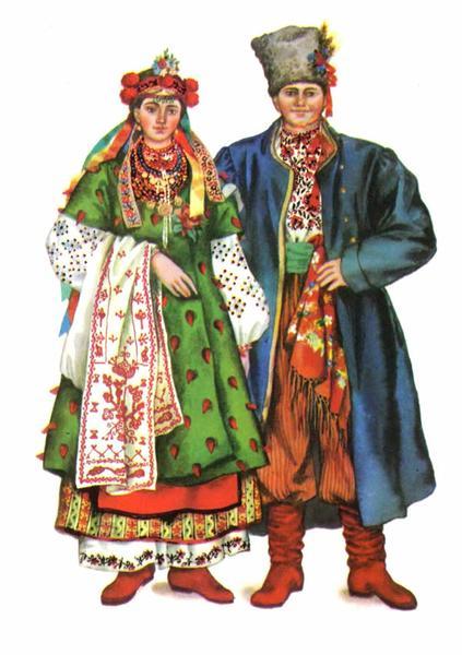 Весільний одяг Південної Київщини
