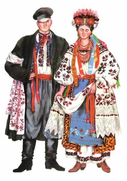 Весільний одяг ПІвдня України