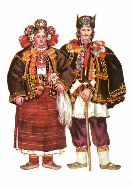 Весільний одяг Закарпатської Гуцульщини