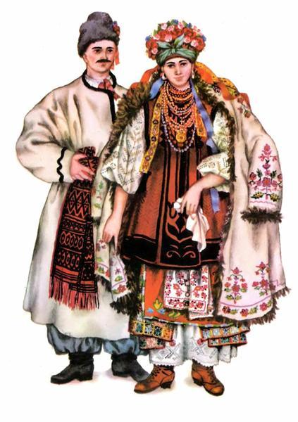 Весільний одяг північної полтавщини