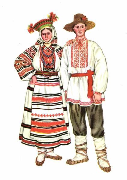 Весільний одяг Західного Полісся