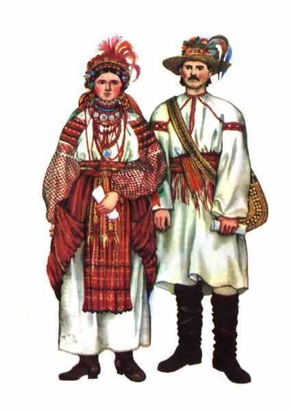 Весільний одяг Городенківського Покуття