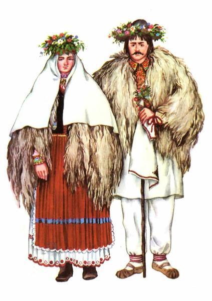 Закарпатський весільний одяг